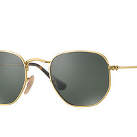 Ray-Ban HEXAGONAL FLAT LENSES Gold, RB3548N | Ray-Ban® USA