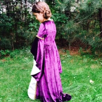Renaissance Gown for Girls