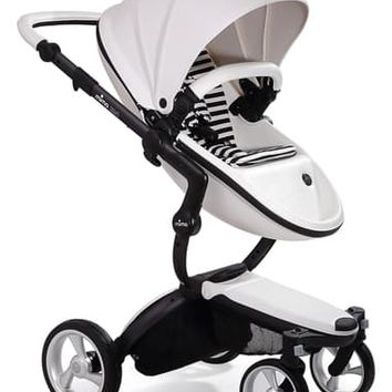 mima Xari Black Chassis Stroller with Reversible Reclining Seat & Carrycot | Nordstrom