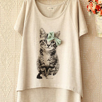 Kitten T-Shirt from KeuTokki