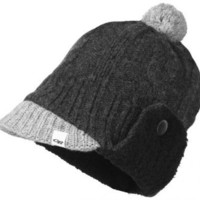 Outdoor Research Women`s Gretel Cap, Charcoal/Black: Clothing