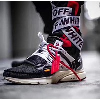 Best Onlie Sale Off White x Nike Air Presto Sport Running Shoes AA3830-001