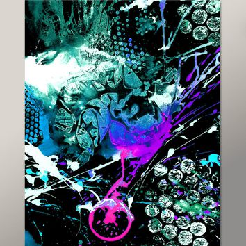 Abstract Print 11x14 Contemporary Modern Fine Art by Destiny Womack - The Breaking Point - dwo