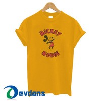 Mickey Mouse T Shirt Women And Men Size S To 3XL