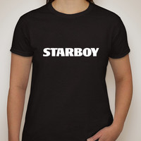 """The Weeknd """"Starboy"""" T-Shirt"""