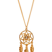 Dreamcatcher Pendant Necklace