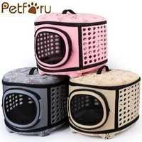 PetForU Portable EVA Dogs or Cats Travel Carrier Tote Kennel