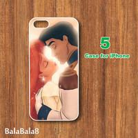 Ariel and Eric, in durable plastic or rubber silicone case