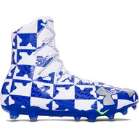 Under Armour Highlight Lacrosse Cleats - White/Royal