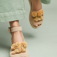 Soludos x Anthropologie Panarea Wedge Sandals