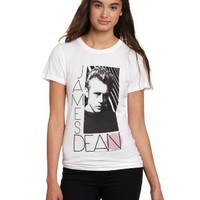 American Classics Juniors James Dean Walking In New York Tee, White, Small
