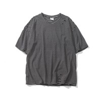 Round-neck Summer Short Sleeve Casual T-shirts [9790789955]