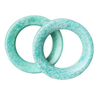 African Amazonite Tunnels Stone Plugs