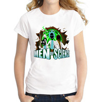 2017 Men Of Science Comfortable Breathable Rick And Morty T-Shirts