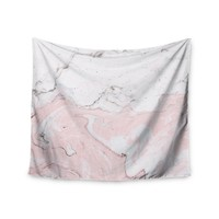 Blush Marble Trendy Gypsy Wall Tapestry