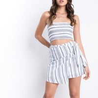 Seaside Wrap Skirt 2 Piece Set