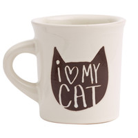 Ore' Originals Happy Products - Cuppa This Cuppa That® Mug - I Love My Cat