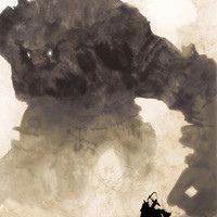 Shadow of the Colossus video game poster 18x24