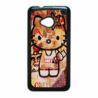 Obey Hello Kitty HTC One M7 Case