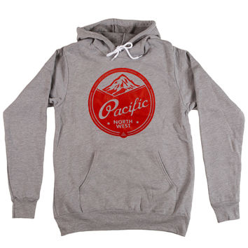 Rainier Hoodie- Heather Grey