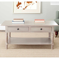 Walmart: Safavieh Boris 2-Drawer Coffee Table
