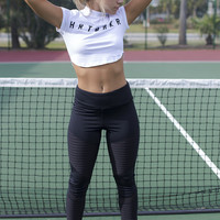 Perfection In Motion Black Active Leggings