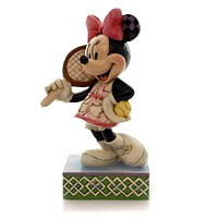 Jim Shore TENNIS, ANYONE? Polyresin Minnie Mouse Disney 4050404