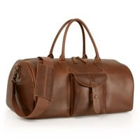 Men's Timberland 'Calexico' Leather Duffel Bag
