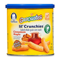 Gerber Graduates Lil' Crunchies 1.48 oz. Cinnamon Maple Canister