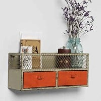 Industrial Caged Organizer