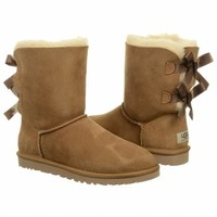 Women's UGG Bailey Bow Boot Chestnut Shoes.com