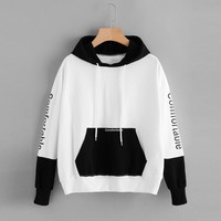 Women Tracksuit Female Autumn Winter Casual Hoody Hoodie Print Comfortable Sweatshirt Girls Long Sleeve Pullover Tops Blouse