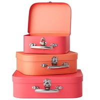 Bon Voyage Suitcase (Pink/Peach) in Storage Collections   The Land of Nod