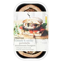 Waitrose Portobello Mushroom Burgers With Goats Cheese & Onion Marmalade at Ocado