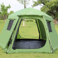 New super big size 368*368cm*190cm for 4-8 persons camping tent,outdoor tent,high class tent,high quality