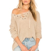 BB Dakota Jack by BB Dakota Willard Sweater in Medium Khaki