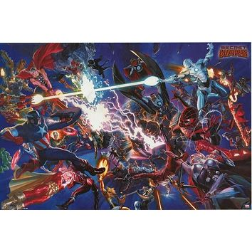 Marvel Comics Secret Wars Poster 22x34