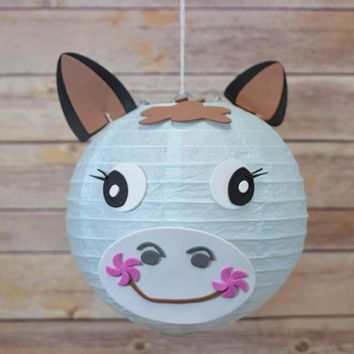 "8"" Paper Lantern Animal Face DIY Kit - Horse / Pony (Kid Craft Project)"