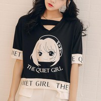 """The Quiet Girl"" T-shirt"