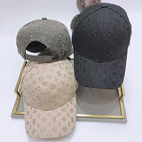 LV Louis Vuitton hats men and women caps tide wild letter embroidery street student baseball cap