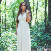 Forever Yours Dress in Beige