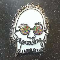 Grouplove Spreading Rumors - 5 Pack Hat Pin