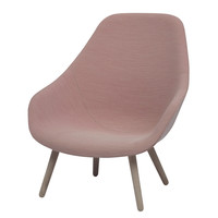 About A Lounge Chair AAL92 (Hi Back) - A+R Store