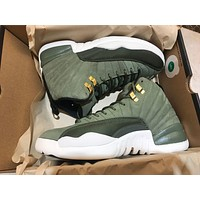 Air Jordan 12 Retro Oliver Canvas Basketball Sneaker | Best Online Sale