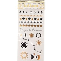 With Love From CA Celestial Flash Tattoo Set - Womens Scarves - Gold - NOSZ