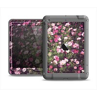 The Vintage Pink Floral Field Apple iPad Air LifeProof Nuud Case Skin Set