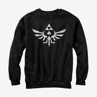 Nintendo Legend of Zelda Triforce Sweatshirt