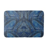 Blue Painting Water's Way Bath Mat