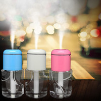 Water Bottle Car Aroma Diffuser Steam Air Humidifier Aromatherapy Essential Oil Diffuser Portable Mist Maker Fogger Humidifer