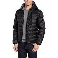 Lodge Packable Windproof 750 Fill Power Down Hooded Jacket Black